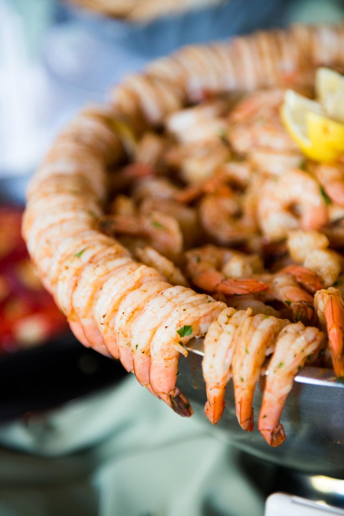 Aly Trotter shrimp cocktail